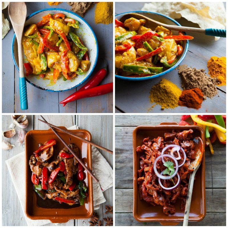Premium Curry collage