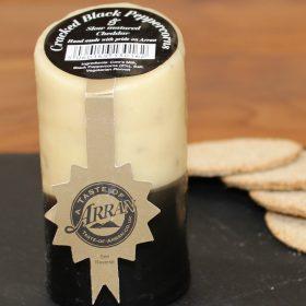 cracked black pepper arran cheese