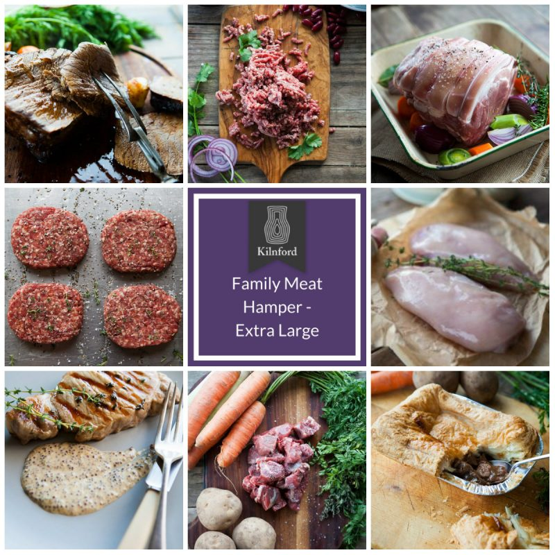 family meat hamper extra largecollage