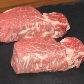 fillet steaks x 2