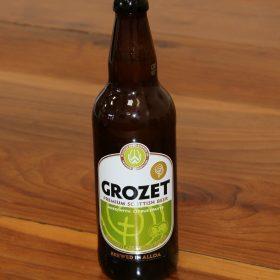 grozet premium scottish beer