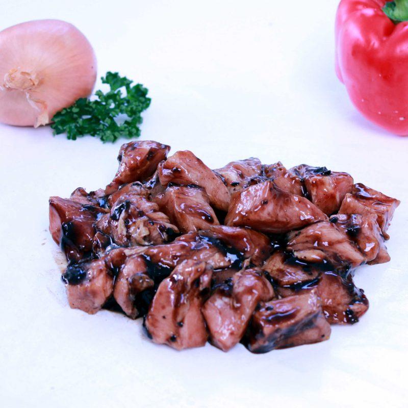 pork in black bean sauce