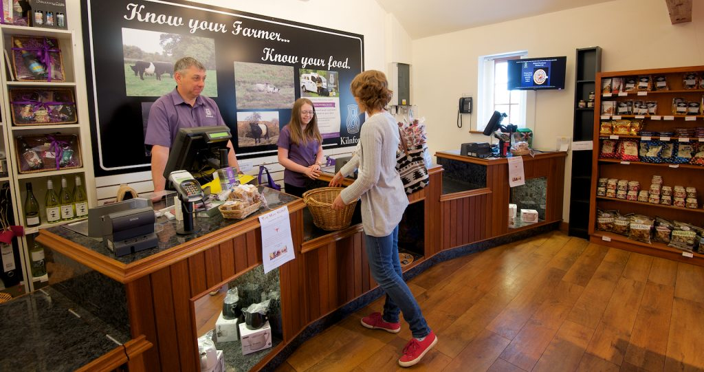 Know your farmer, know your food at Kilnford Farm Shop