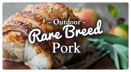 High Welfare, Slow Raised Outdoor Pork from Kilnford