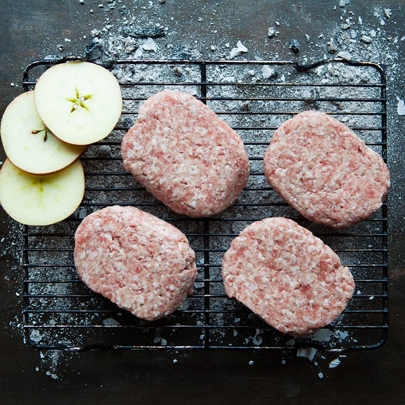 Kilnford pork & apple burger-1