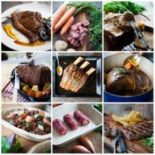 Premium Meat Box collage
