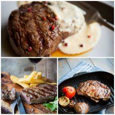 Steak offercollage