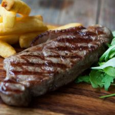 Home Reared Galloway Beef Steaks
