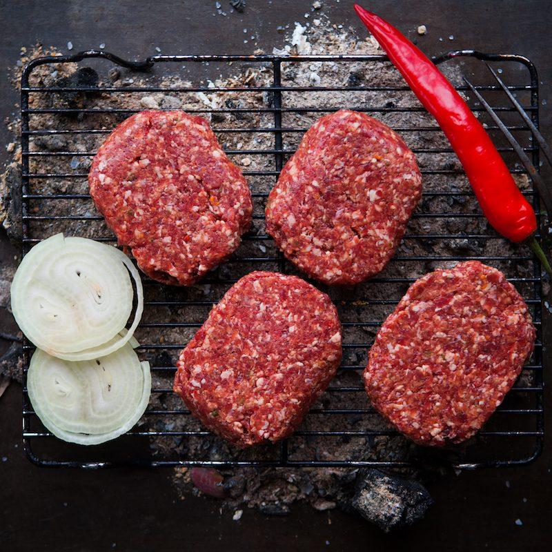 Galloway Chilli Burger