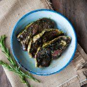 Kilnford lamb steaks in mint & rosemary sauce-2