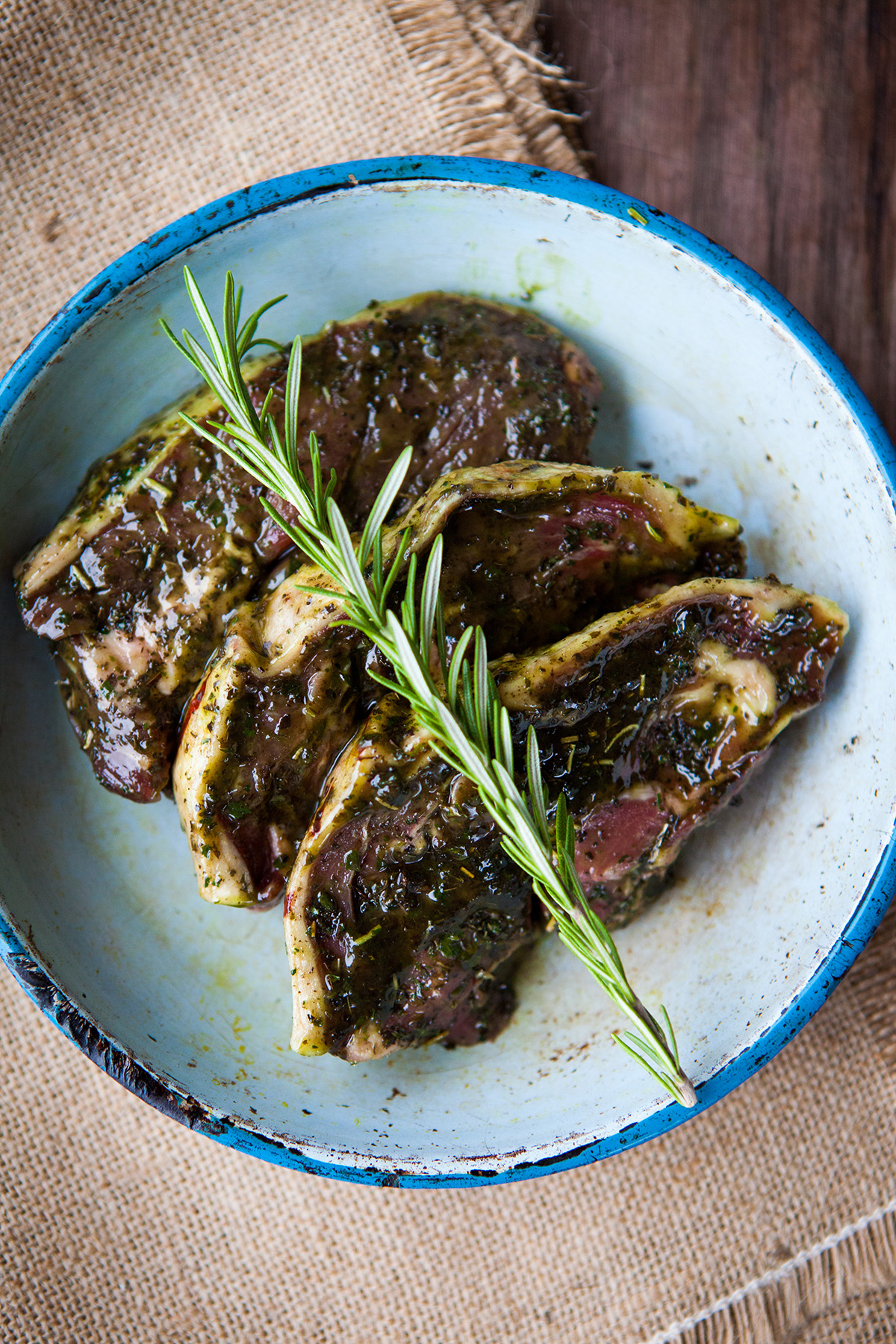 how to make lamb steak sauce
