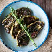 Kilnford lamb steaks in mint & rosemary sauce-4