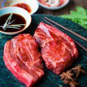 Kilnford outdoor chinese pork steaks-3