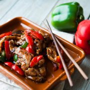 Kilnford pork in black bean sauce-2