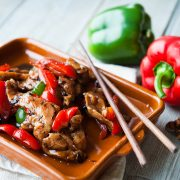 Kilnford pork in black bean sauce-4