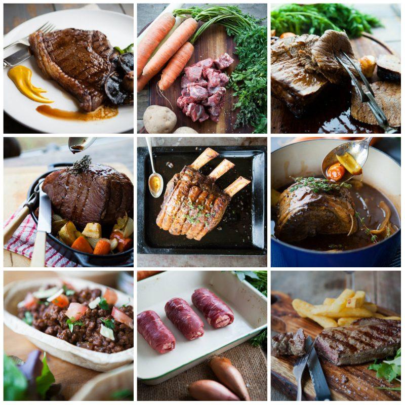 Premium Meat Box collage