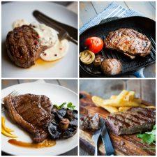 Steak Taster Box Collage